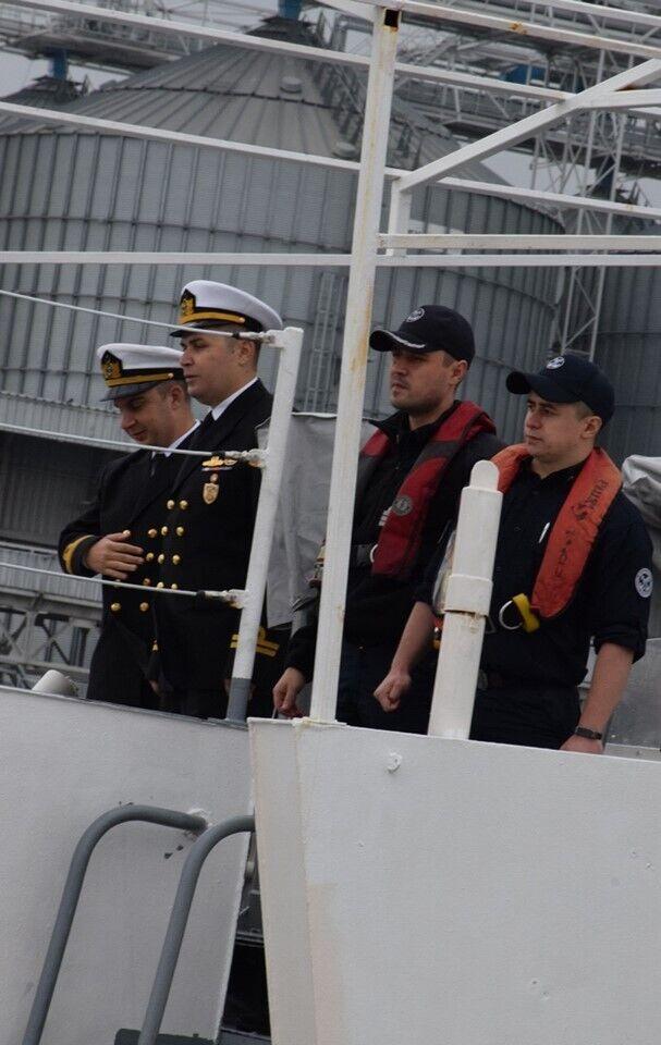 Турецький корабель зайшов в Одесу