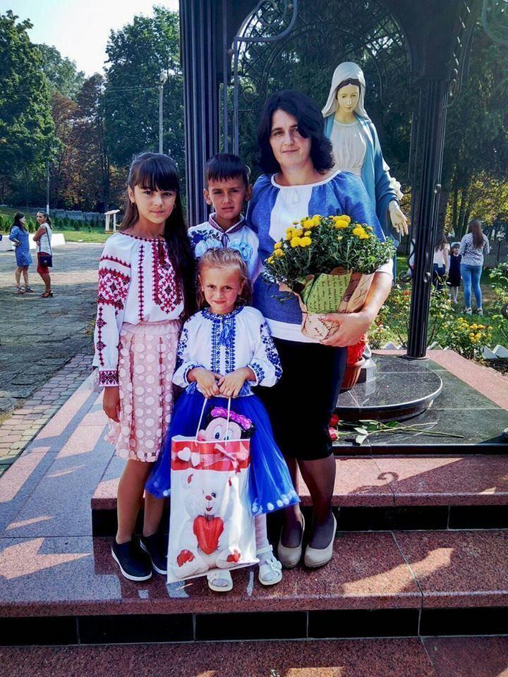 У Василия в Украине осталась супруга и трое детей