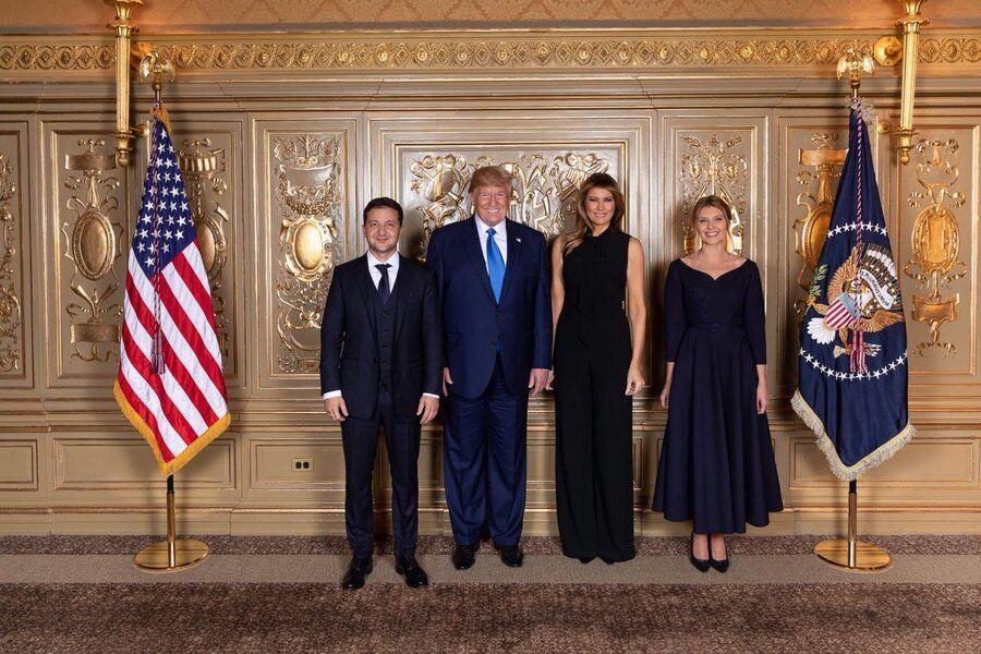 Первое совместное фото Зеленского и Трампа