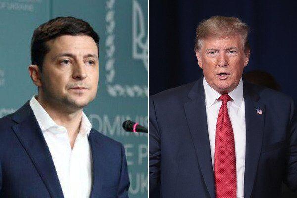 Володимир Зеленскьий та Дональд Трамп