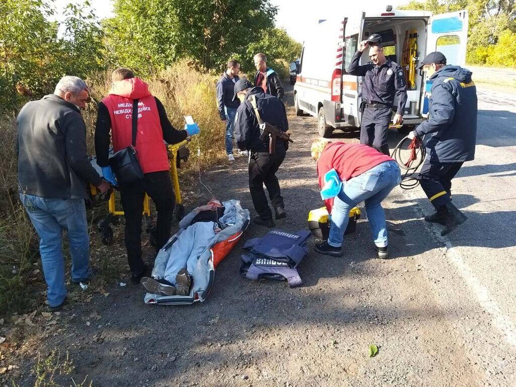 Пасажир легкового авто загинув, водій - сильно постраждав