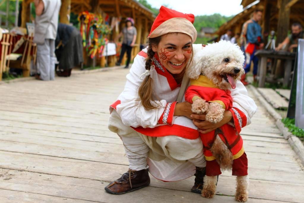 Под Киевом пройдет фестиваль собак и исторический показ мод
