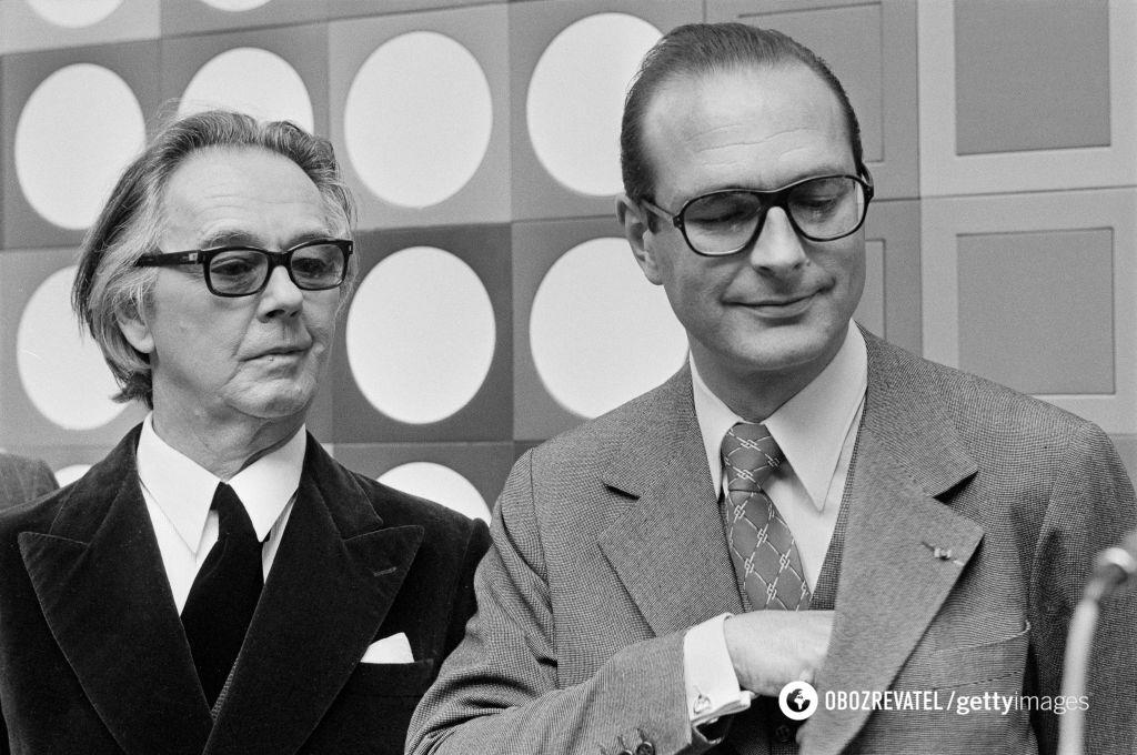 Жак Ширак в молодости