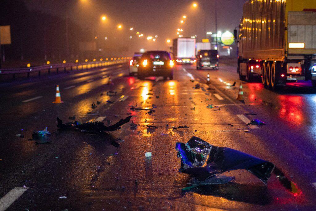 У ніч на п'ятницю, 27 вересня, в Голосіївському районі Києва трапилася ДТП