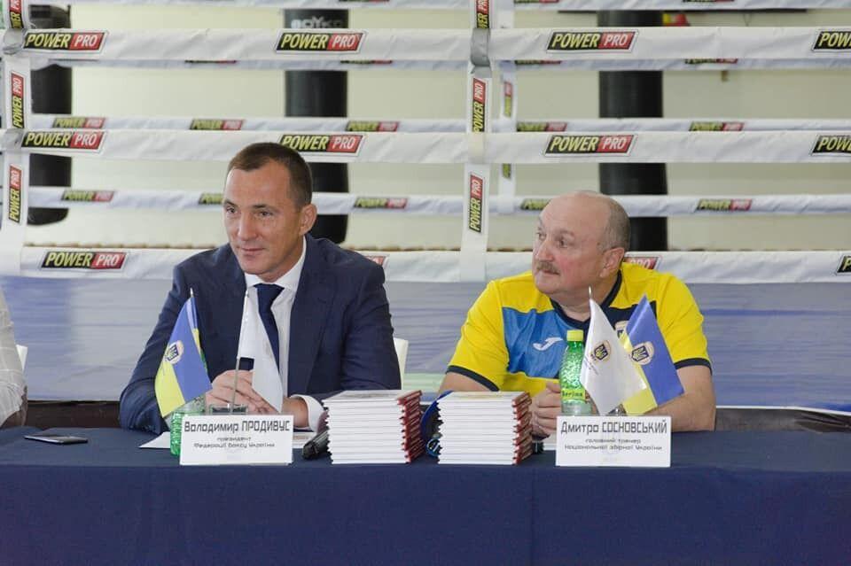 Володимир Продивус (зліва)
