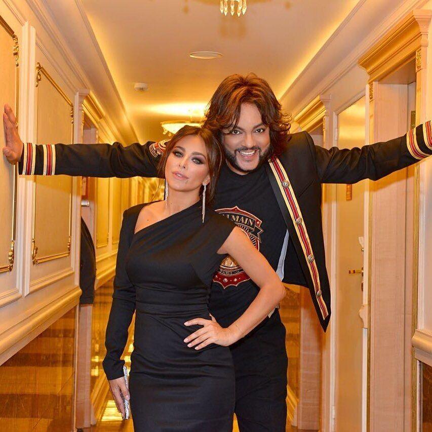 Филипп Киркоров поздравил Ани Лорак с днем рождения