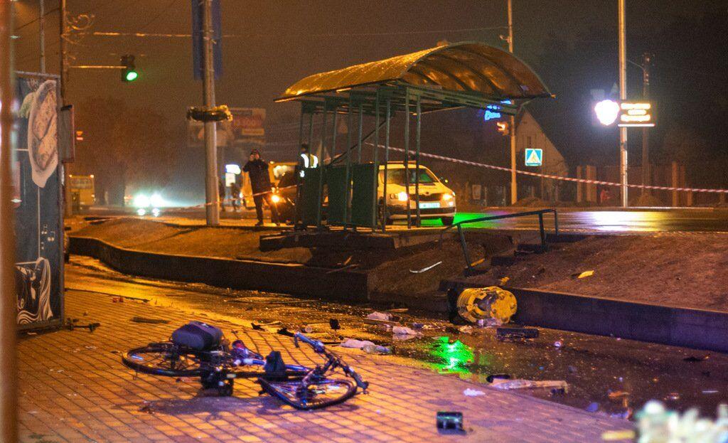 ДТП з поліцейським в Броварах
