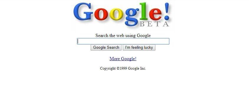 Google — 21 год: как менялся главный поисковик планеты