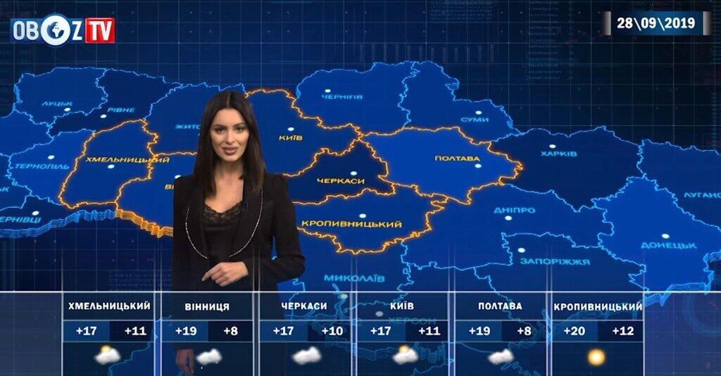 Попереду дощові вихідні: прогноз на 28 вересня від ObozTV