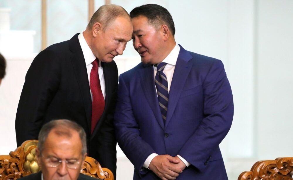 Володимир Путін і Халтмагійн Баттулга