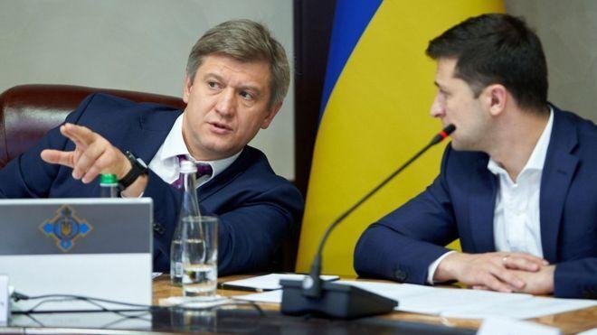 Александр Данилюк и Владимир Зеленский
