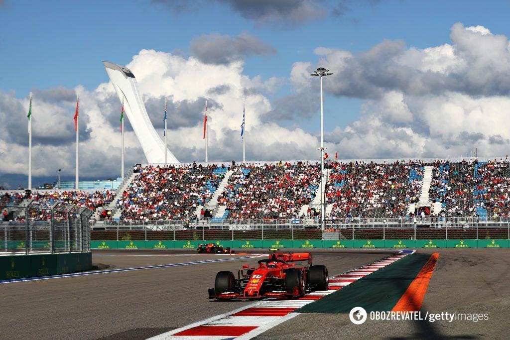Гран-прі Росії завершився катастрофою для Ferrari