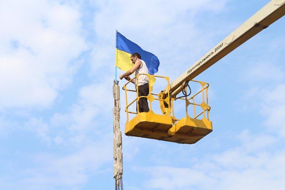 Демонтаж у Станиці Луганській завершений українською стороною