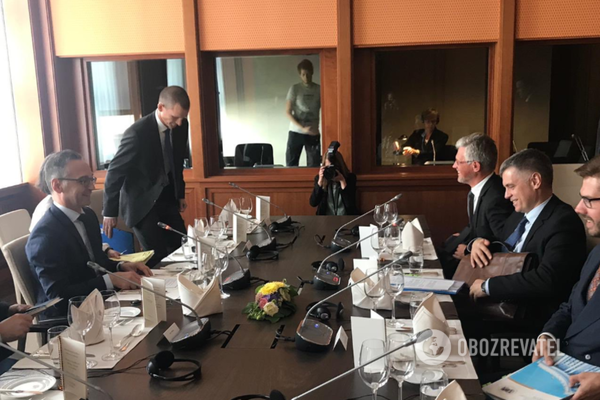Переговори глав МЗС України та Німеччини