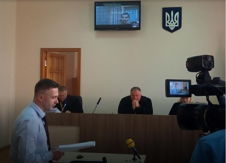 За судом Редін спостерігав у відео із СІЗО