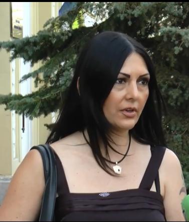 Мама загиблої дівчини Жанна Шевченко