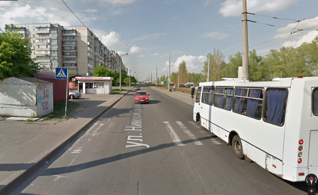 Аварія трапилася на переході по вул. Закревського