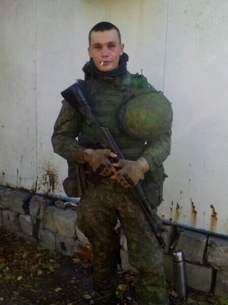 """Терорист """"ДНР"""" Микита Дубінов"""