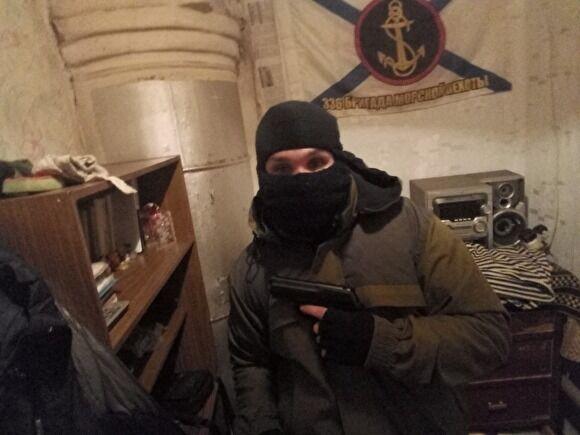 """Терорист """"ДНР"""" Микита Дубінов на Донбасі"""