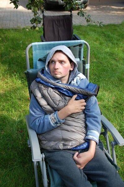 Олексій Янін після інсульту