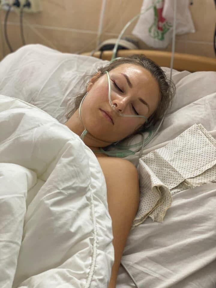 Ирина потеряла много крови и перенесла две операции