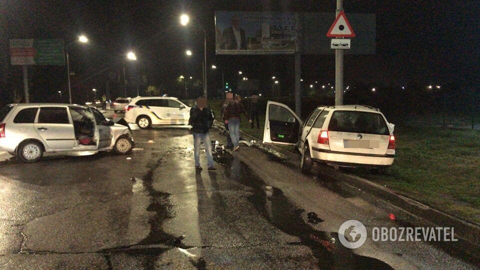 ДТП произошло в Павлограде Днепропетровской области