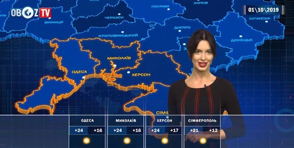 Местами дожди: прогноз погоды в Украине на 1 октября от ObozTV