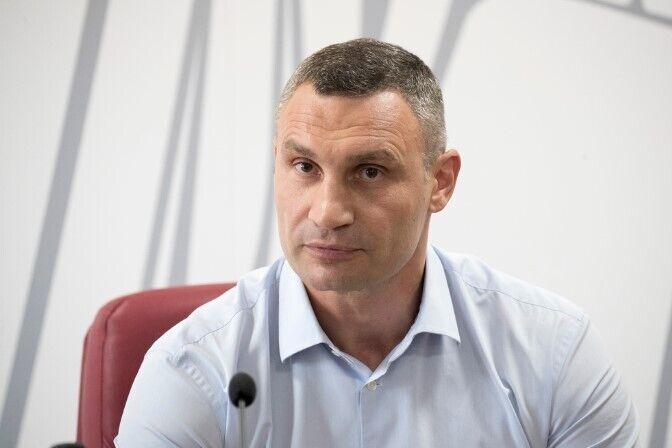 Віталій Кличко на пресконференції