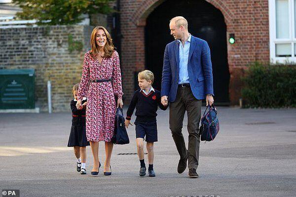 Дочка Вільяма і Міддлтон вперше пішла до школи