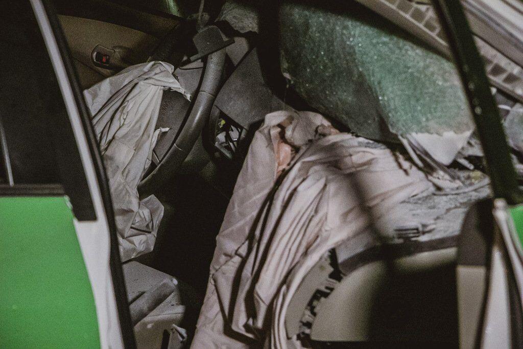 Постраждав пасажир таксі