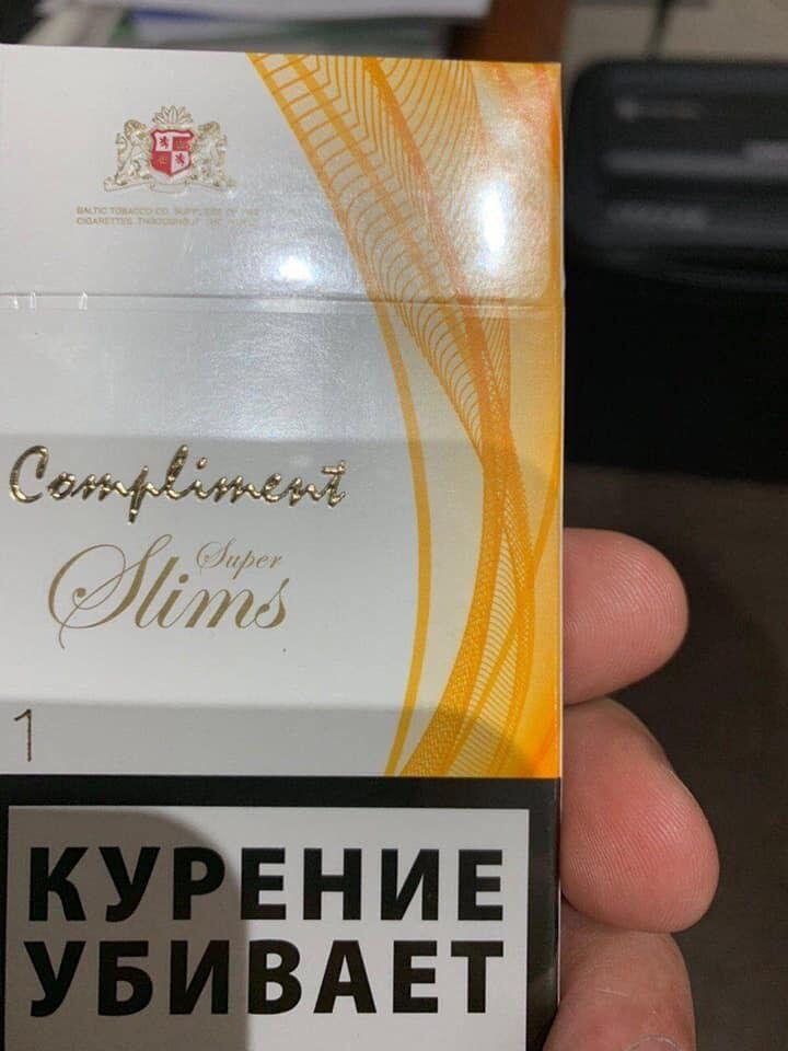 Сигарети з ОРДЛО