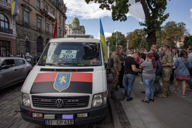 У Львові попрощалися з бійцем ЗСУ