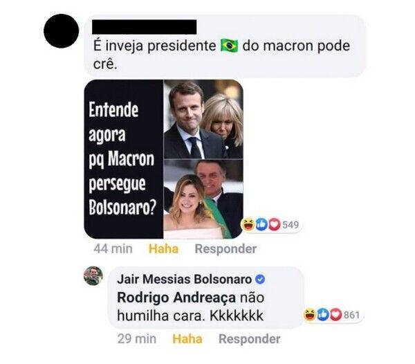"""""""Безобразная!"""" Бразильские президент и министр публично оскорбили жену Макрона"""
