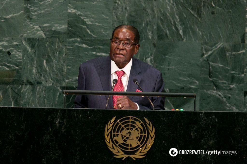 Роберт Мугабе в ООН