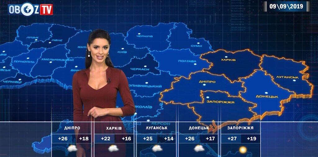 """""""Бабье лето"""" в Украине: прогноз погоды на 9 сентября от ObozTV"""