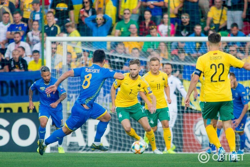 Литва - Україна