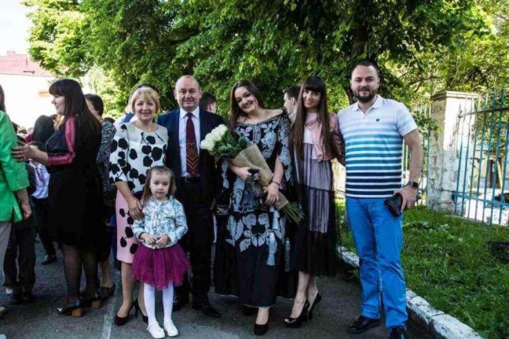 Ректор Андрій Крисоватий із дружиною