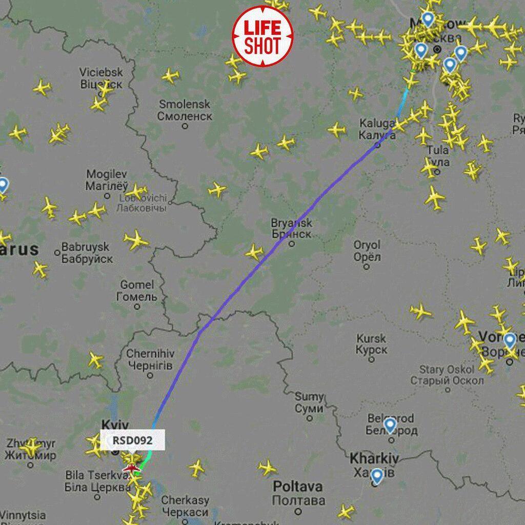 Российский спецборт влетел в Украину: первые детали