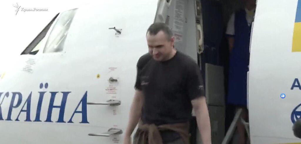 Олег Сенцов вернулся домой