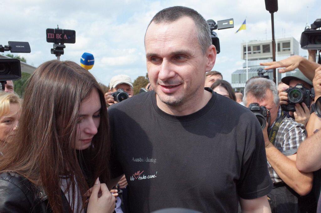 Сенцов вернулся в Украину