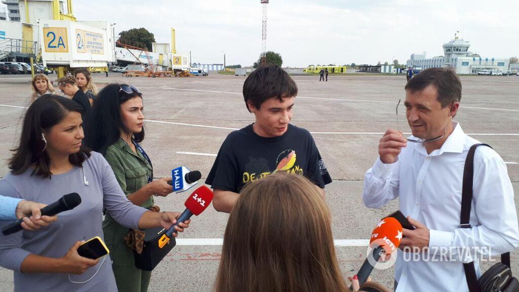 Гриб вернулся в Украину