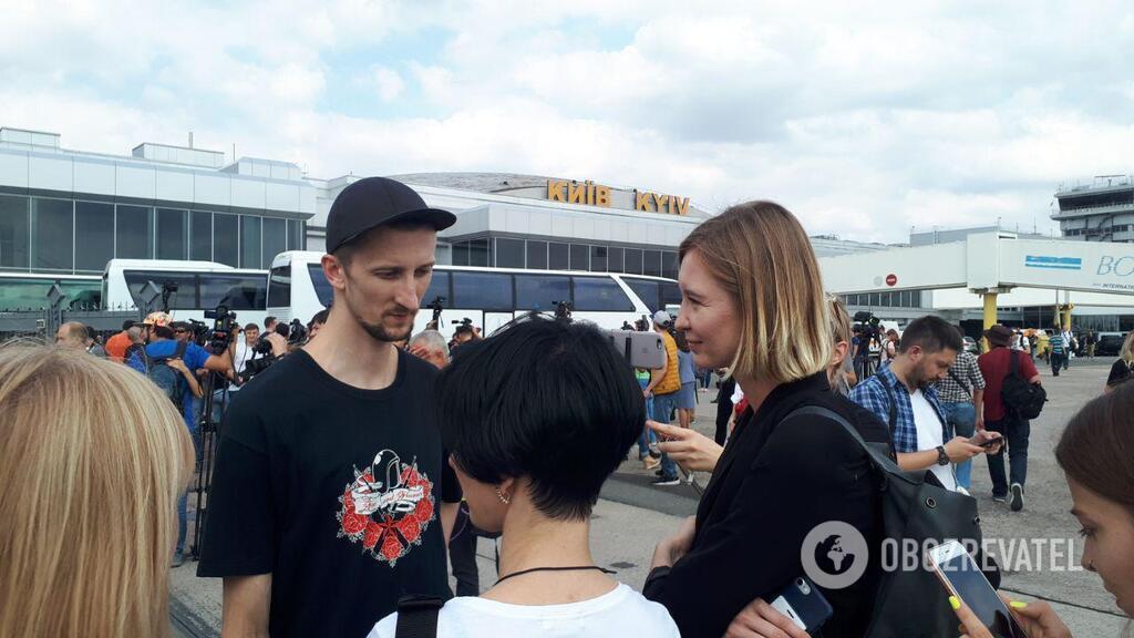 Александр Кольченко вернулся в Украину