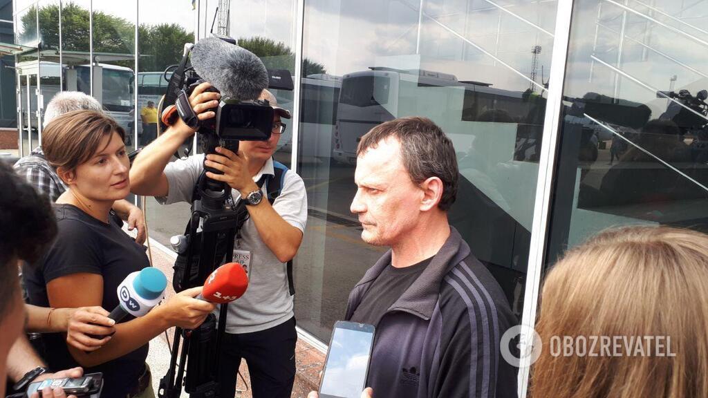 Станислав Клых вернулся в Украину
