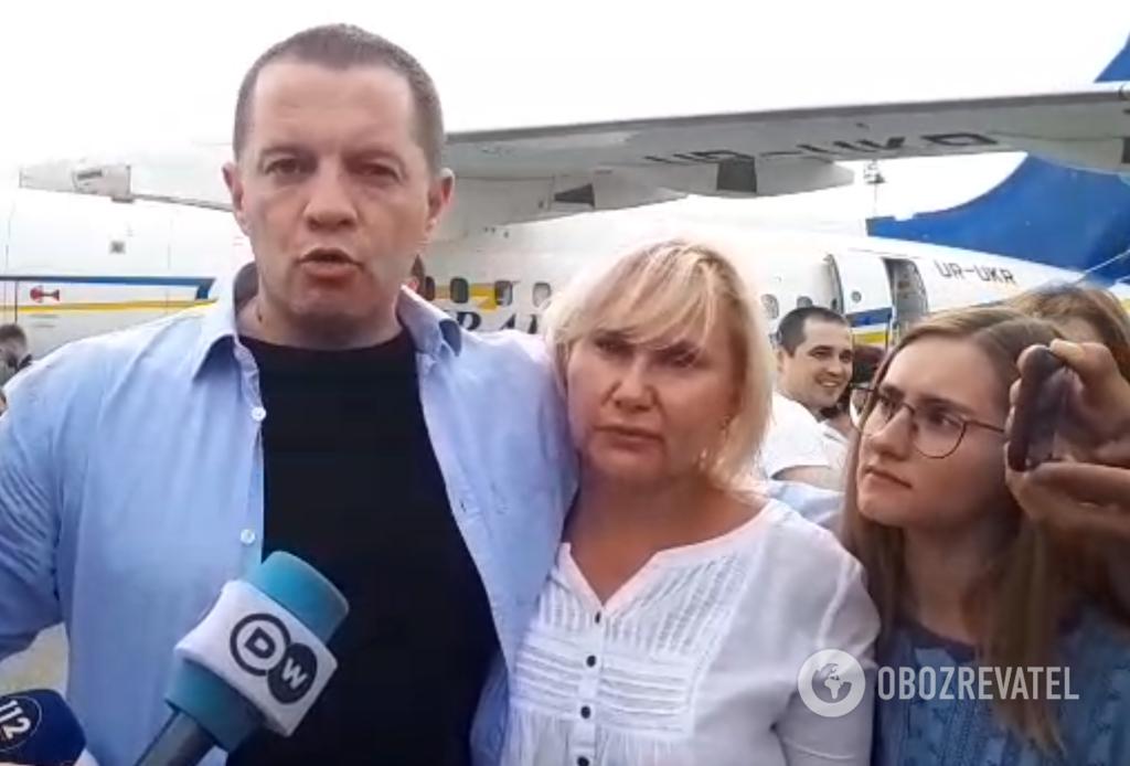Украинцы вернулись из российского плена