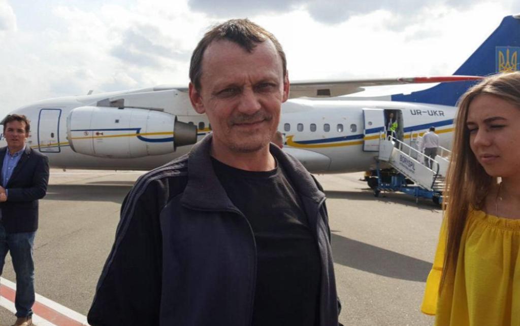Николай Карпюк вернулся в результате обмена