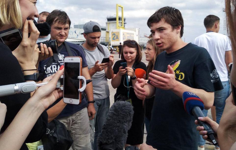 Павел Гриб вернулся в Украину