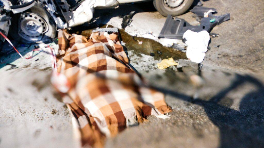 Водій легковика загинув на місці