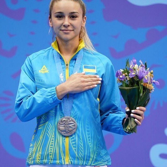 Анжелика Терлюга - гордость Украины