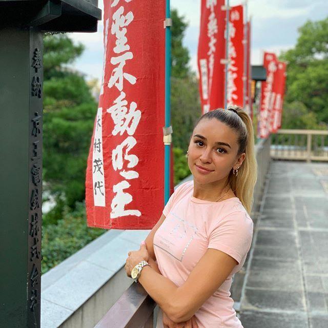 Анжелика Терлюга в Токио