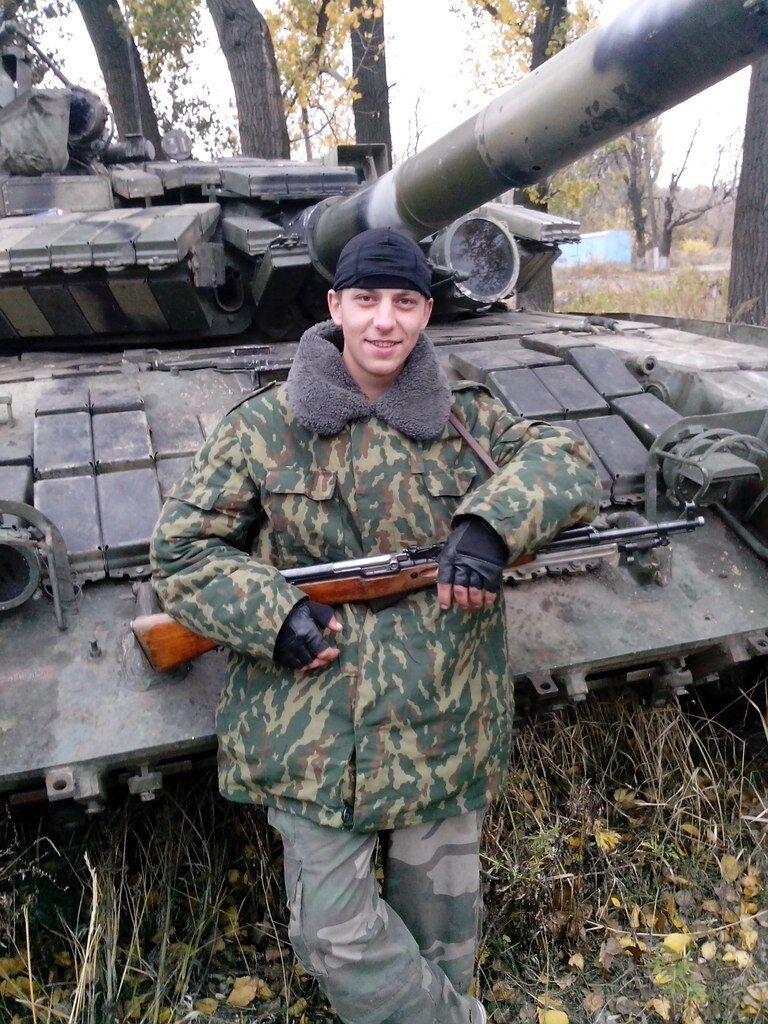 Загиблий бойовик Віталій Завалишин